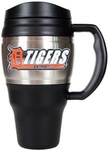 MLB Tigers Stainless Steel 20oz Travel Mug
