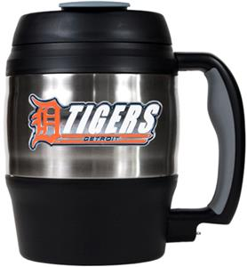MLB Tigers 52oz Stainless Macho Travel Mug