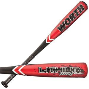 Worth Lithium Prodigy Junior -10 Baseball Bats