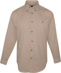TRI MOUNTAIN Executive Cotton Twill Shirt w/Pocket