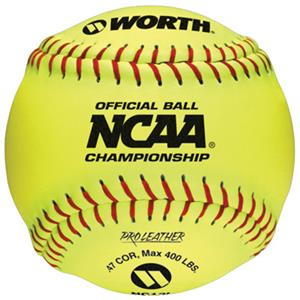"Worth 12"" Official NCAA Championship Softballs"