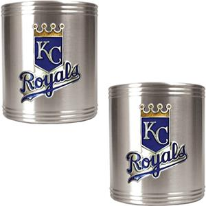 MLB Kansas City Royals Stainless Steel Can Holders