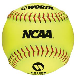 "Worth 12"" NCAA Outdoor Training Softballs"