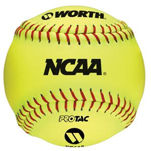 "Worth 12"" NCAA Indoor/Outdoor Training Softballs"