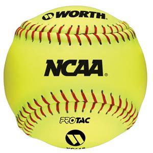 """Worth 12"""" NCAA Indoor/Outdoor Training Softballs"""