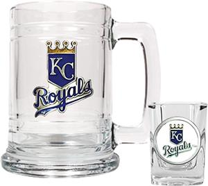 MLB Kansas City Royals Boilermaker Gift Set