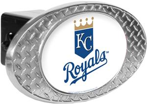 MLB Kansas City Royals Diamond Plate Hitch Cover