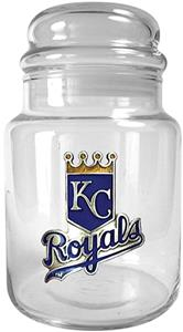 MLB Kansas City Royals Glass Candy Jar