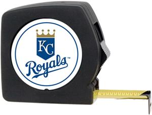 MLB Royals 25' Tape Measure w/Crystal Coat Logo