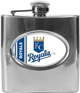 MLB Kansas City Royals 6oz Stainless Steel Flask