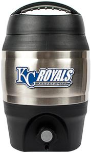MLB Royals 1gal Tailgate Jug Push Button Spout