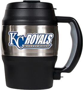MLB Royals 20oz. Stainless Steel Mini Jug