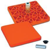 Pro Style Rubber Optic Orange Safety Base B076