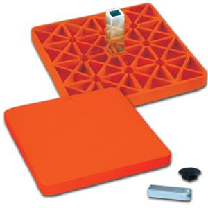 Pro Style Rubber Optic Orange Safety Base B076