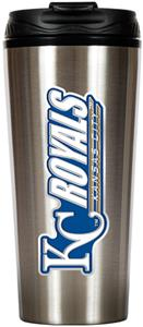MLB Royals 16oz Stainless Steel Travel Tumbler