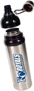 MLB Royals 24oz Stainless Water Bottle w/Black Top