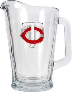 MLB Minnesota Twins 1/2 Gallon Glass Pitcher