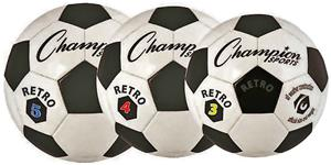 Champion Retro Classic Old School Club Soccer Ball