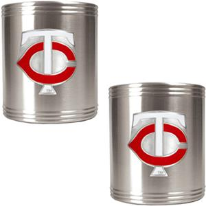 MLB Minnesota Twins Stainless Steel Can Holders