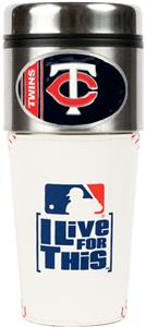 MLB Minnesota Twins Gameball Travel Tumbler
