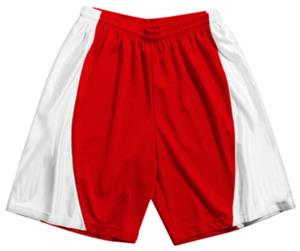A4 Adult Mesh/Dazzle 9&quot; Inseam Basketball Shorts
