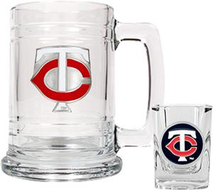 MLB Minnesota Twins Boilermaker Gift Set