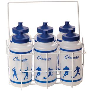 Champion Sports Coated Wire Water Bottle Carrier