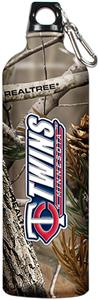 MLB Twins 32oz RealTree Aluminum Water Bottle