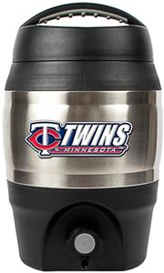 MLB Twins 1gal Tailgate Jug Push Button Spout