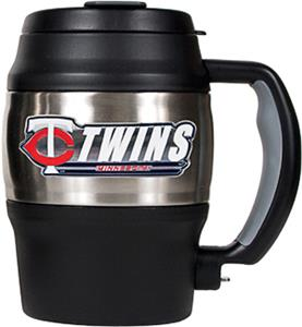 MLB Twins 20oz. Stainless Steel Mini Jug