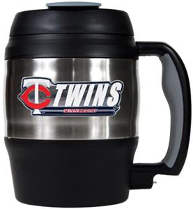MLB Twins 52oz Stainless Macho Travel Mug