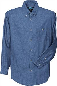 TRI MOUNTAIN Pioneer Denim Stonewashed Shirt