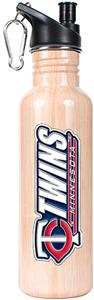 MLB Twins 26oz Baseball Bat Water Bottle