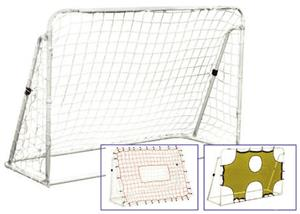 Champion Sports 3 In 1 Trainer Soccer Goal Set