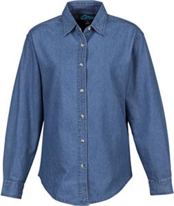 TRI MOUNTAIN Women's Cherokee Denim Shirt