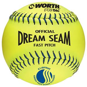 "Worth 11"" USSSA Dream Seam PT Fastpitch Softballs"