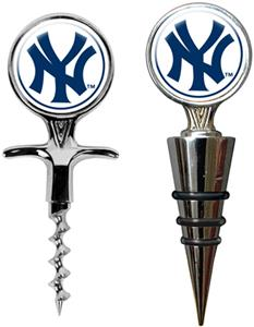 MLB New York Yankees Cork Screw & Bottle Topper