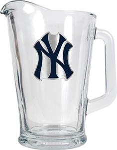 MLB New York Yankees 1/2 Gallon Glass Pitcher