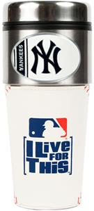 MLB New York Yankees Gameball Travel Tumbler