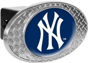 MLB New York Yankees Diamond Plate Hitch Cover