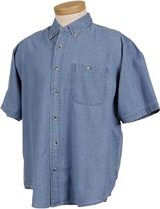 TRI MOUNTAIN Scout Denim Stonewashed Shirt