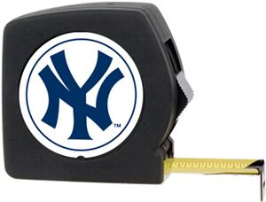 MLB Yankees 25' Tape Measure w/Crystal Coat Logo