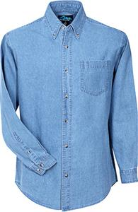 TRI MOUNTAIN Trekker Denim Stonewashed Shirt