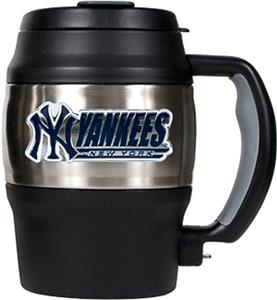 MLB Yankees 20oz. Stainless Steel Mini Jug