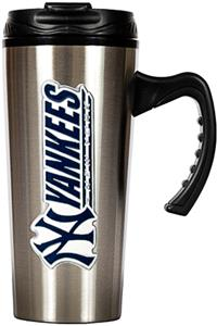 MLB Yankees Stainless Steel 16oz Travel Mug