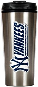 MLB Yankees 16oz Stainless Steel Travel Tumbler