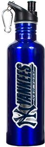 MLB Yankees 26oz Blue Stainless Water Bottle