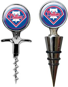 MLB Phillies Cork Screw & Bottle Topper