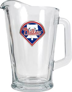 MLB Philadelphia Phillies 1/2 Gallon Glass Pitcher