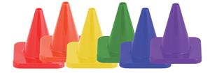 "Champion Hi Visibility Flexible Vinyl 4"" Cone Sets"